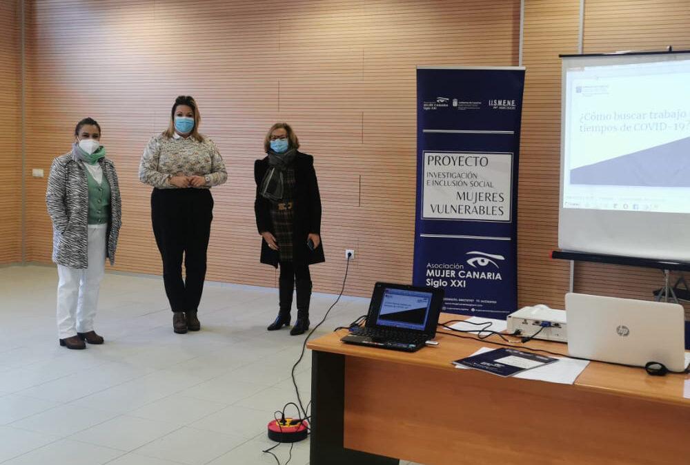 Los Realejos impartió un taller de orientación socio laboral para mujeres