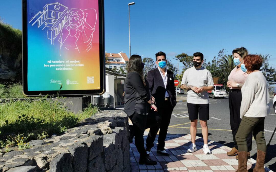 Los Realejos refuerza su compromiso con los derechos LGBTI en una campaña comarcal en torno a la diversidad