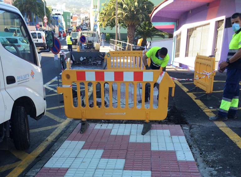 Los Realejos continúa trabajando por la mejora de su accesibilidad urbana