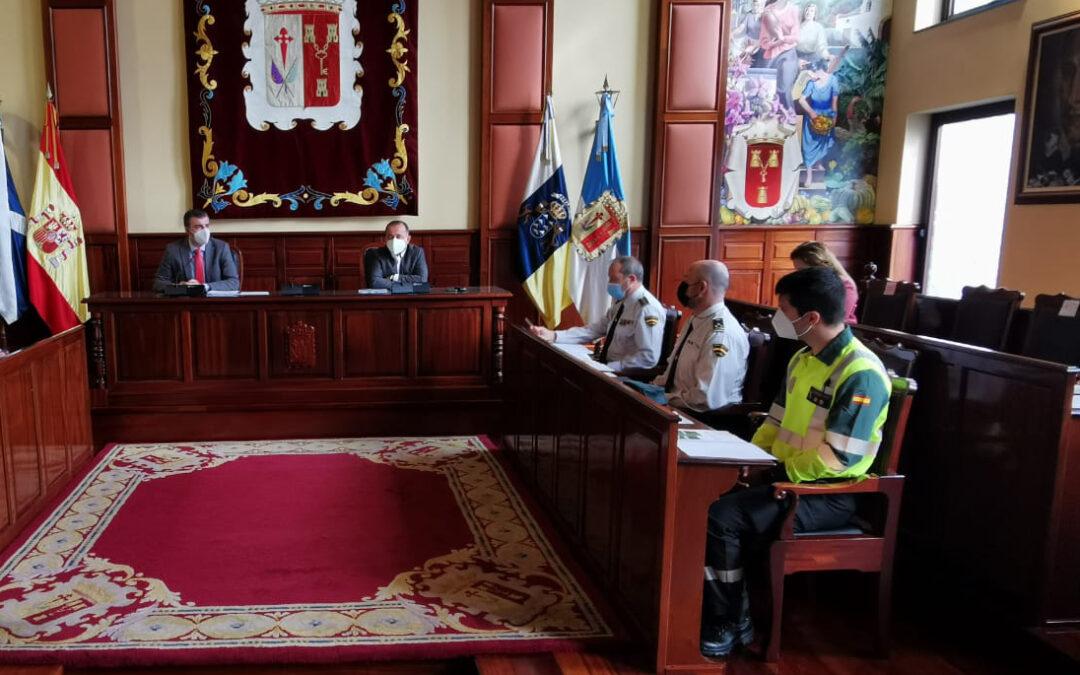 Los Realejos aprobará los reglamentos de la Junta Local y el Observatorio de Seguridad y Emergencias