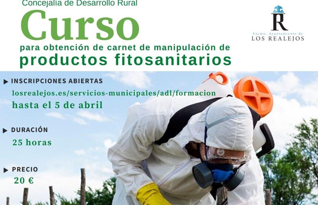 Los Realejos impartirá un nuevo curso de 'Manipulación de Productos Fitosanitarios' en La Ferruja