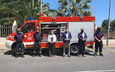 Los Realejos dota de un nuevo vehículo 4×4 de primera intervención y respuesta a sus Bomberos Voluntarios