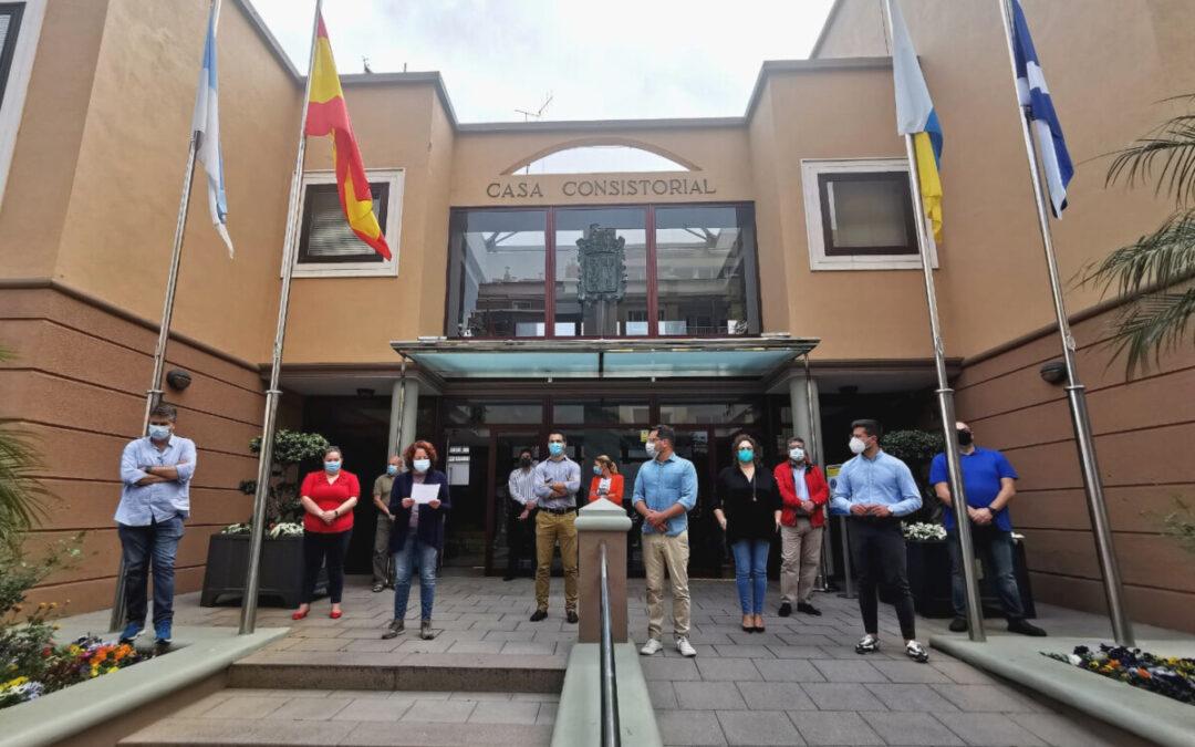 Los Realejos condena el caso de violencia de género acaecido en esta semana en la isla de Gran Canaria