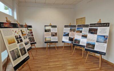 Los Realejos expone en la Sala La Ferretería hasta el 4 de junio la muestra de Involcan 'Los volcanes salen a la calle'