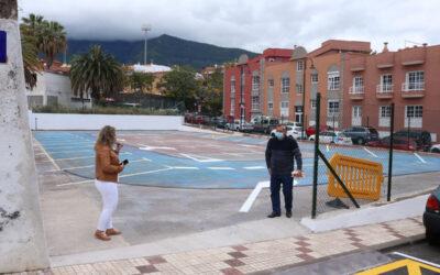 Los Realejos estrena estacionamientos para el área residencial, comercial y escolar de Toscal Longuera