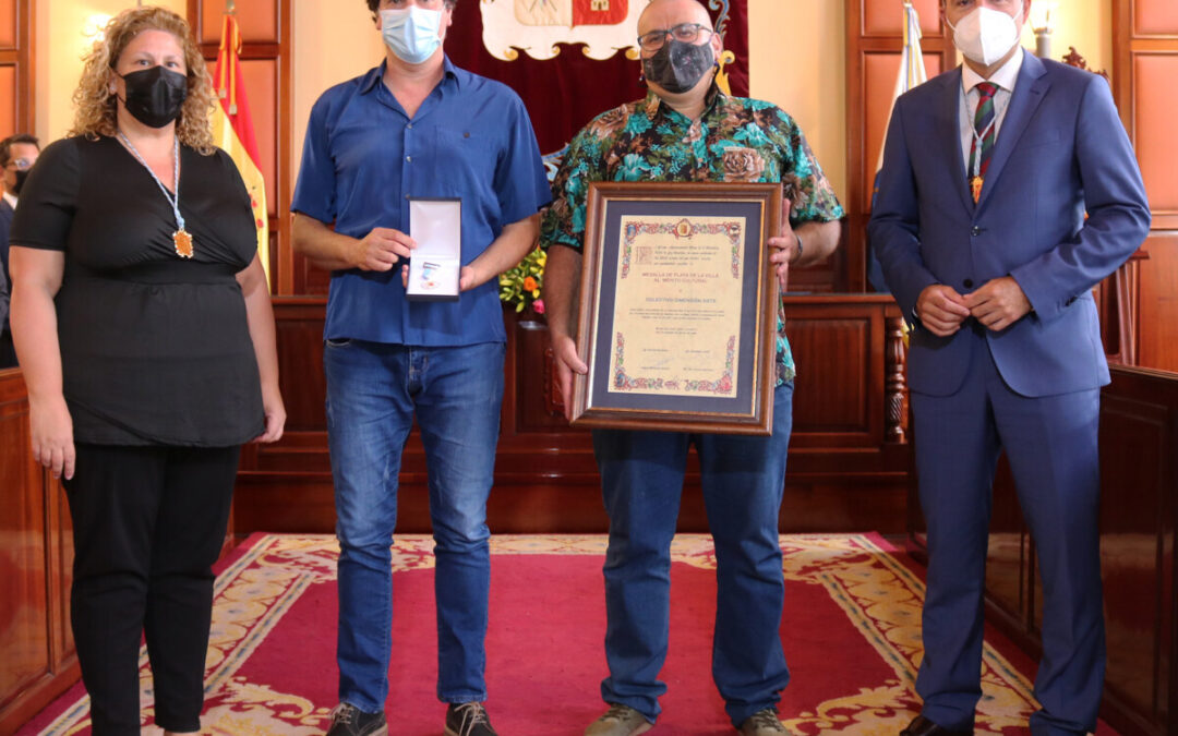 Dimensión Siete recibe la Medalla de Plata de la Villa de Los Realejos al Mérito Cultural