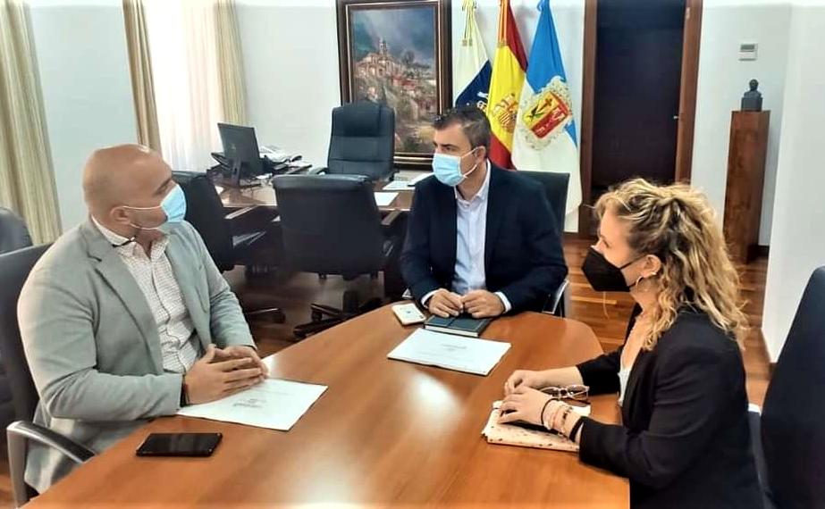 Los Realejos y Gesplan acuerdan colaborar en la redacción de proyectos para las inversiones municipales