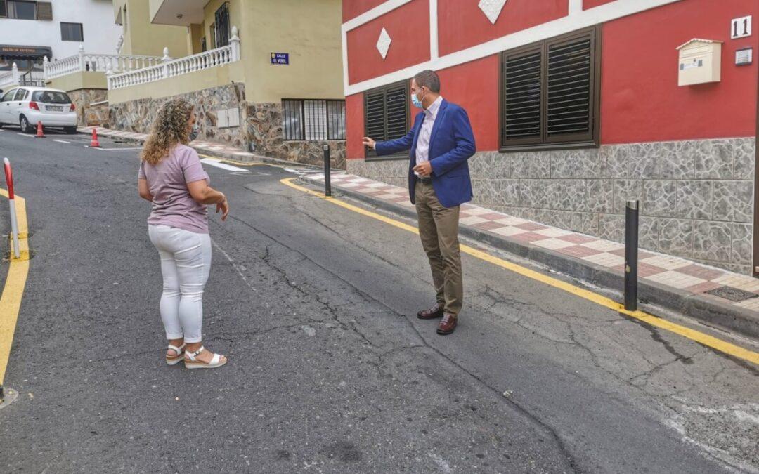 Los Realejos inicia la próxima semana la repavimentación de la Calle Media Cuesta en Toscal Longuera