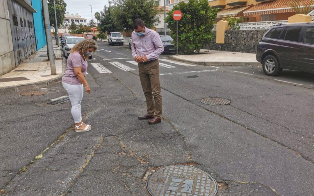 El 'Plan de Barrios' contrata la repavimentación parcial de varias vías en Toscal Longuera por 35.000 euros