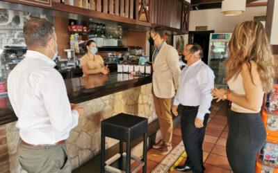 Los Realejos y Ecovidrio informan a bares y restaurantes sobre la mejora de la gestión de residuos de vidrio