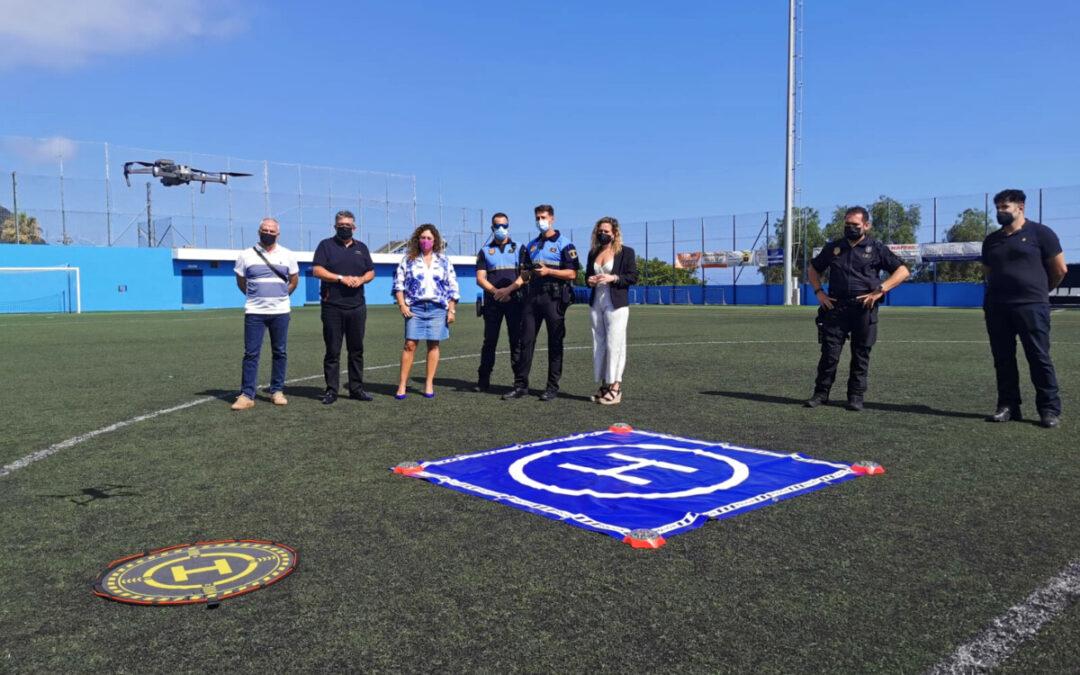 La Policía Local de Los Realejos crea una unidad de dron para reforzar y mejorar tareas de vigilancia