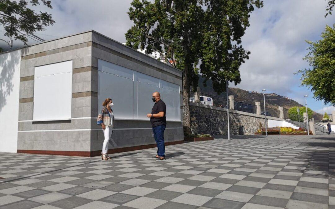 El Ayuntamiento concluye el procedimiento de ajudicación del kiosco bar de la Plaza Viera y Clavijo