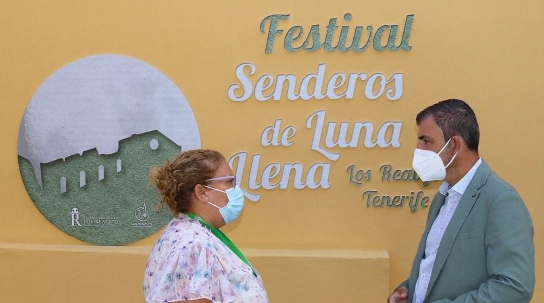 180 personas disfrutarán de las rutas guiadas del primer festival 'Senderos de luna llena' de Los Realejos