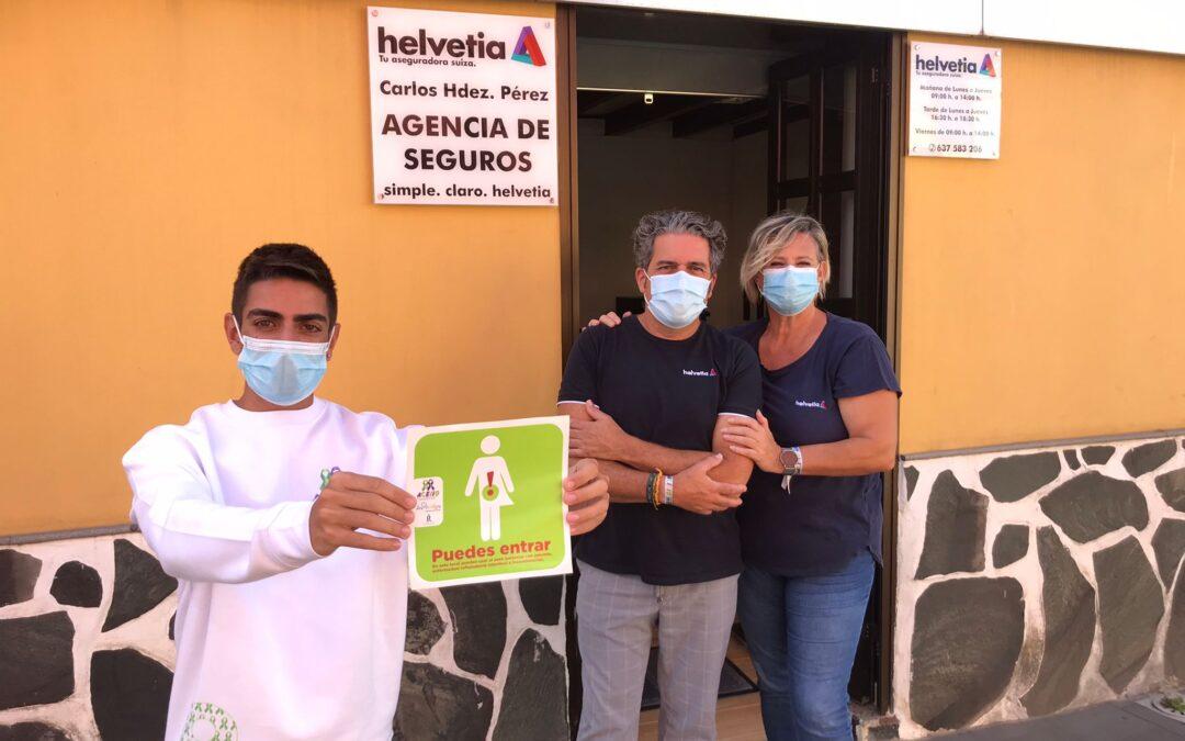 Los Realejos promueve una Red comercial con aseos de libre acceso para personas con ostomía, EII e incontinencias