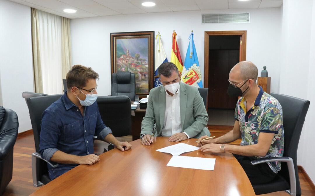 El Ayuntamiento concede una subvención de 5.000 euros a la Asociación de Comerciantes de Los Realejos (ACORE)