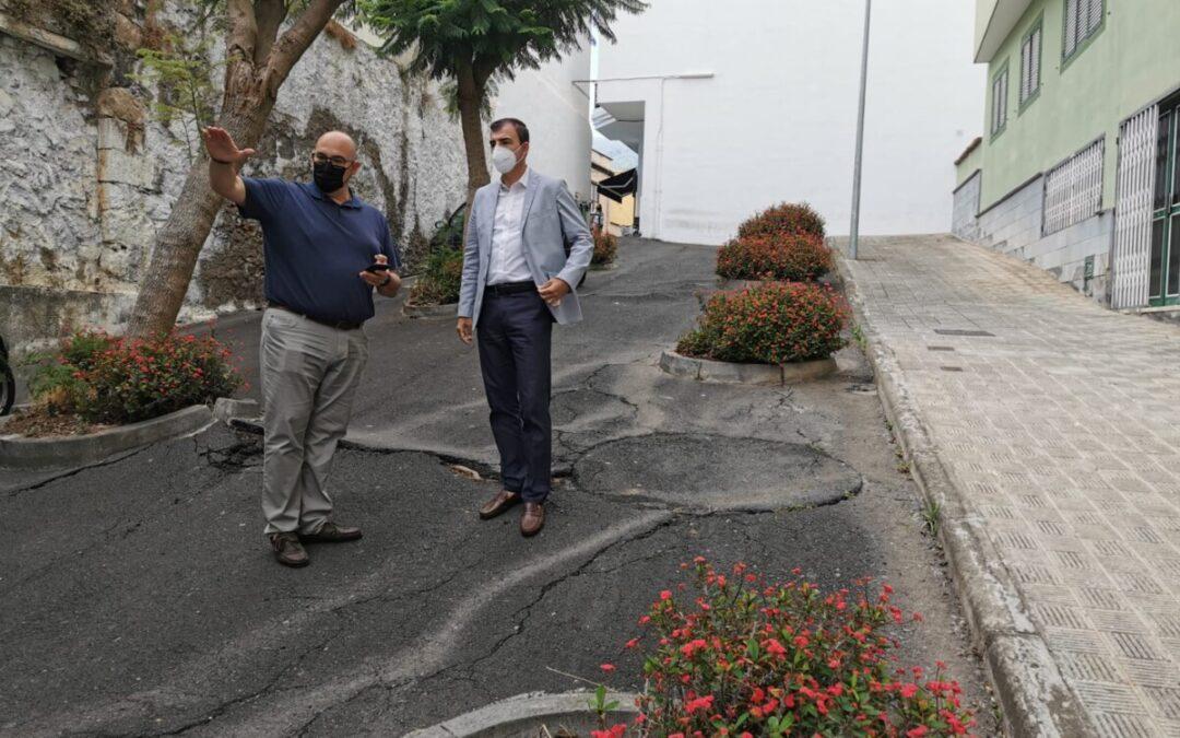El Ayuntamiento reformará el Peatonal San Andrés de San Agustín por 73.034,59 euros del 'Plan de Barrios'